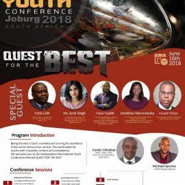International Youth Conference Joburg 2018